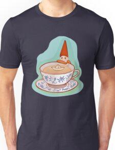 fairytale dwarf during teatime Unisex T-Shirt