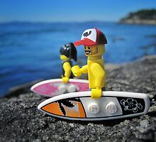 Surf's Up! (2 of 3) by bricksailboat