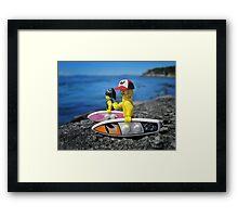 Surf's Up! (2 of 3) Framed Print