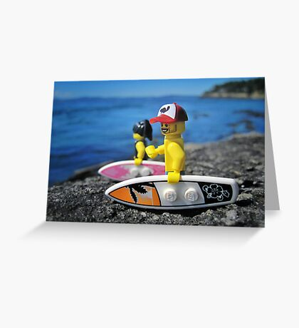 Surf's Up! (2 of 3) Greeting Card