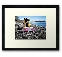 Surf's Up! (3 of 3) Framed Print