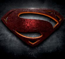 "The Letter S in the Style of ""Man of Steel"" by BigRockDJ"