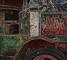 Vintage Dump Truck by Kim Krause