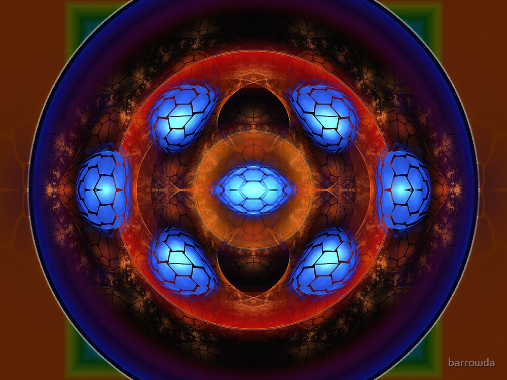 Tut65#20: Blue Dragon Eggs of Middle Earth  (G1425) by barrowda
