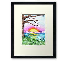 Childlike Wonder Framed Print