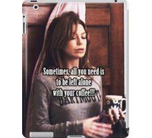 Meredith Grey Coffee iPad Case/Skin