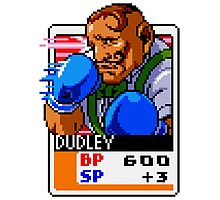 Dudley - Street Fighter Photographic Print