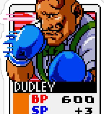 Dudley - Street Fighter Sticker