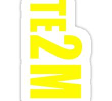 #Vote2Miguel Banner Yellow Sticker