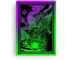 **** PSYCHEDELIC SPACE OX **** Canvas Print