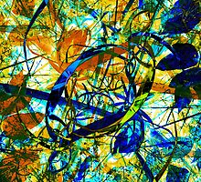 Chaotic Nature 2 by MSRowe Art and Design