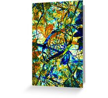 Chaotic Nature 2 Greeting Card