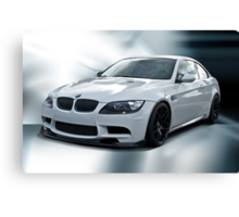2008 BMW M3 Sports Coupe Canvas Print