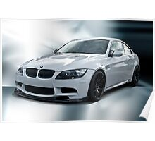 2008 BMW M3 Sports Coupe Poster