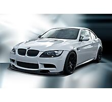 2008 BMW M3 Sports Coupe Photographic Print