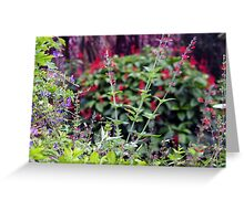 Wildflower stands Greeting Card