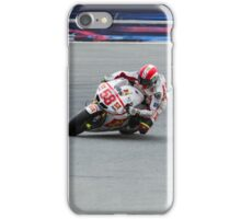 Marco Simoncelli and Valentino Rossi at laguna seca 2011 iPhone Case/Skin