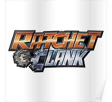 Ratchet & Clank - Logo Poster