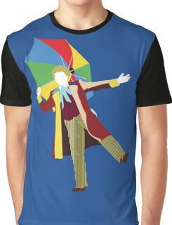 The Sixth Doctor - Doctor Who - Colin Baker Graphic T-Shirt