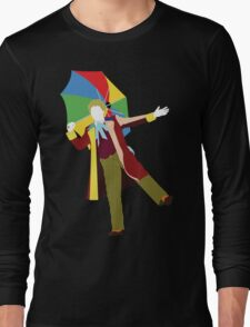 The Sixth Doctor - Doctor Who - Colin Baker Long Sleeve T-Shirt