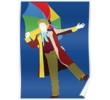 The Sixth Doctor - Doctor Who - Colin Baker Poster