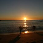Surf into Sunrise - Mona Vale Beach, Sydney (B) by Jane Wilkinson-Franssen
