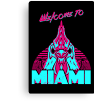 Welcome to Miami - I - Richard Canvas Print