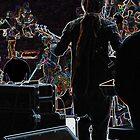Neon Band, Guitarist by Kim Krause
