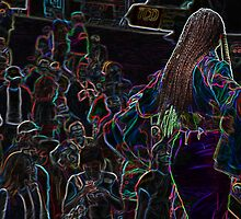 Neon Band, Singer Chick by Kim Krause