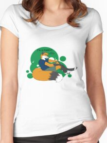 I'm a Furry! That a Problem? Women's Fitted Scoop T-Shirt