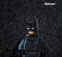I'm LEGO Batman - Batman. by jarodface