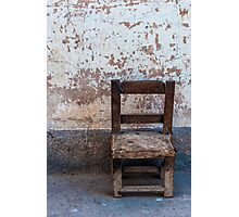 The Little Old Chair Photographic Print