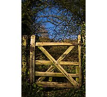 Gateway to wilderness Photographic Print