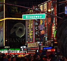 New York, Broadway by iraart