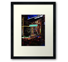 New York, Broadway Framed Print