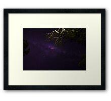 Night Sky @ Noosa Framed Print