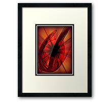 Summer Red Framed Print