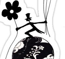 Mr Jacques romantic Sticker
