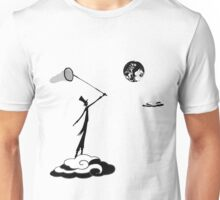Monsieur Jacques reaching for the moon... Unisex T-Shirt