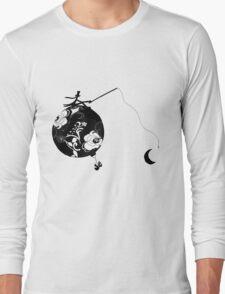 Monsieur Jacques moon's fisherman Long Sleeve T-Shirt