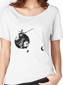 Monsieur Jacques moon's fisherman Women's Relaxed Fit T-Shirt