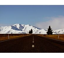 Mackenzie Country, South Island, New Zealand Photographic Print