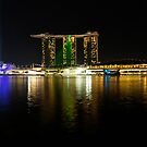 Singapore Laser Show by Robyn Carter