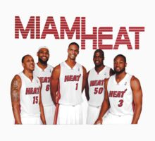 Miami Heat 2013 Championship T-Shirts & Hoodies by meganfart