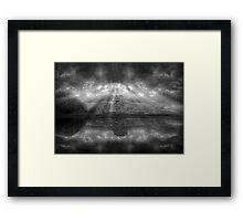 ©DA The Light IA In Monochromatic Framed Print