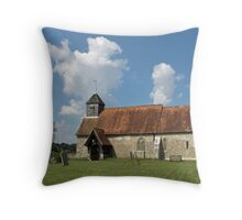St. Mary's Church, Binsted Throw Pillow