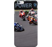 Start of the Mugello MotoGP Race 2011 iPhone Case/Skin