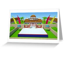 3D World Martial Arts Tournament - Dragon Ball Greeting Card