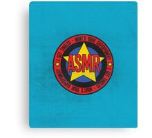 ASMR - What's Your Superpower? Canvas Print