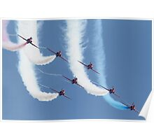 RAF Red Arrows - Formation Display Poster